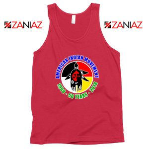 American Indian Movement Red Tank Top