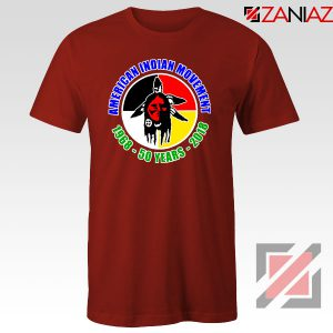 American Indian Movement Red Tshirt