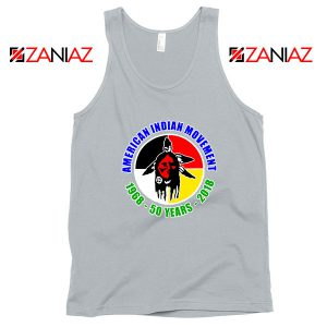 American Indian Movement Sport Grey Tank Top