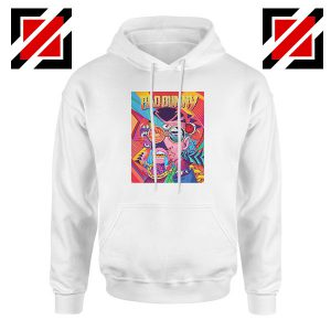 Bad Bunny Concert Poster White Hoodie