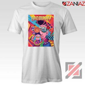 Bad Bunny Concert Poster White Tshirt