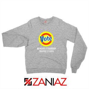 Best Anti Trump Sport Grey Sweatshirt