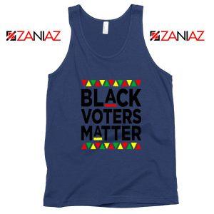 Black Voters Matter Navy Blue Tank Top