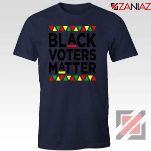 Black Voters Matter Navy Blue Tshirt