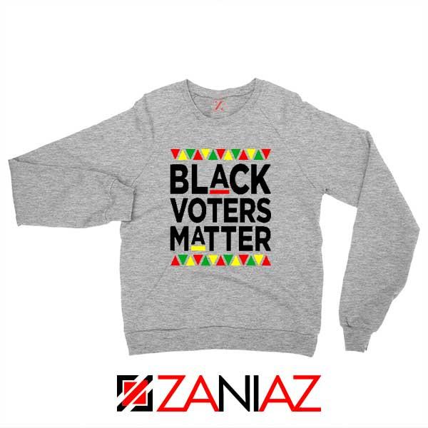 Black Voters Matter Sport Grey Sweatshirt