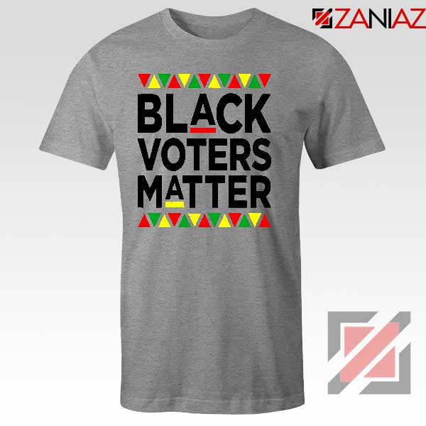 Black Voters Matter Sport Grey Tshirt