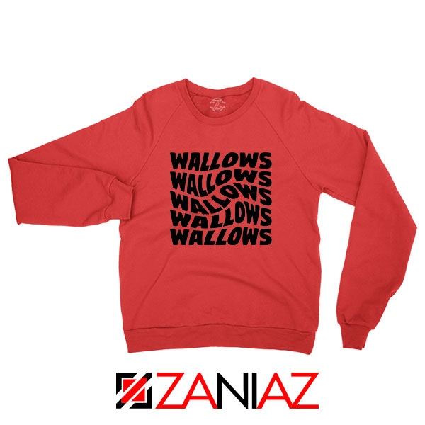 Black Wallows Red Sweatshirt