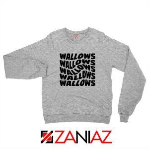 Black Wallows Sport Grey Sweatshirt