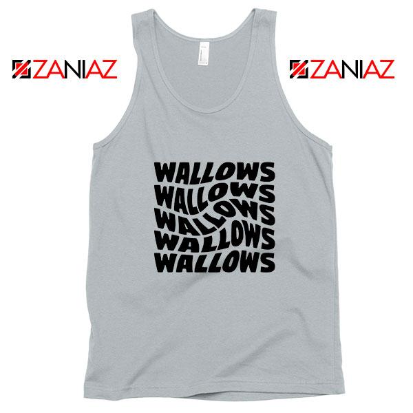 Black Wallows Sport Grey Tank Top