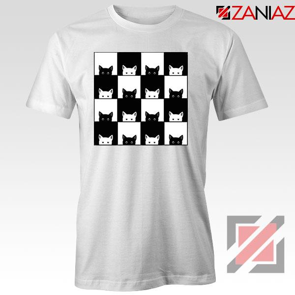 Black White Kittens Tshirt