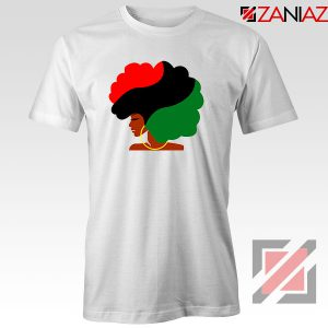 Black Woman Hair Tshirt