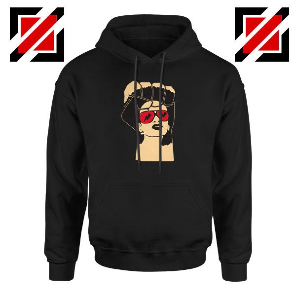 Black Woman Power Black Hoodie
