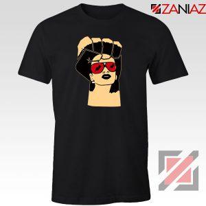 Black Woman Power Black Tshirt