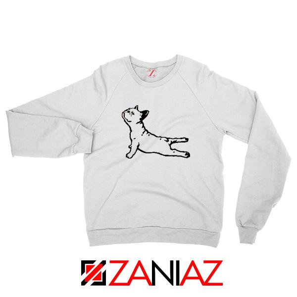 Bulldog Yoga Pose Sweatshirt
