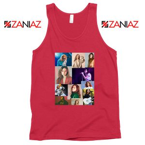 Buy Clairo Collage Red Tank Top