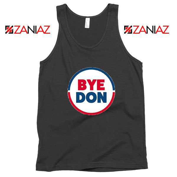 Bye Don Black Tank Top