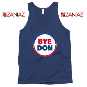 Bye Don Navy Blue Tank Top