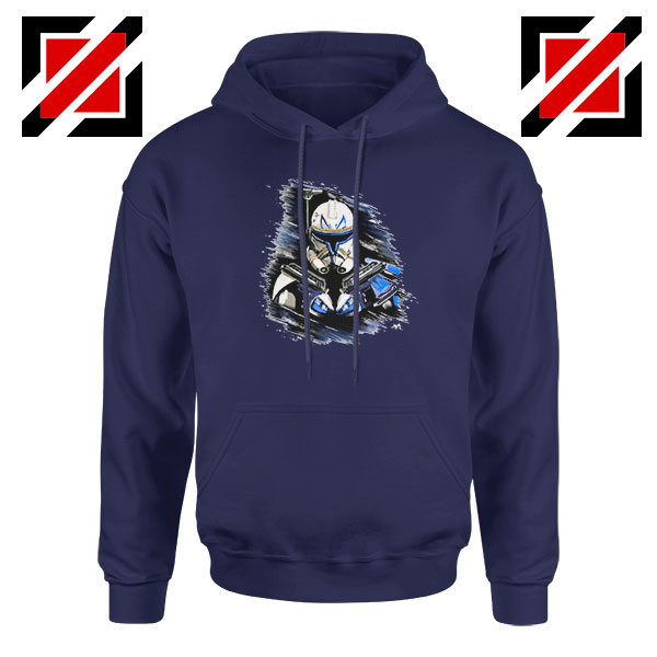 Captain Rex Star Wars Navy Blue Hoodie