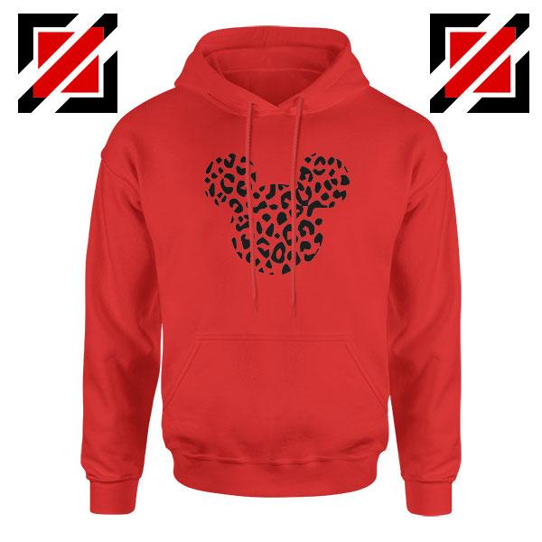 Cheetah Mickey Red Hoodie