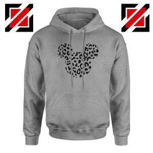 Cheetah Mickey Sport Grey Hoodie
