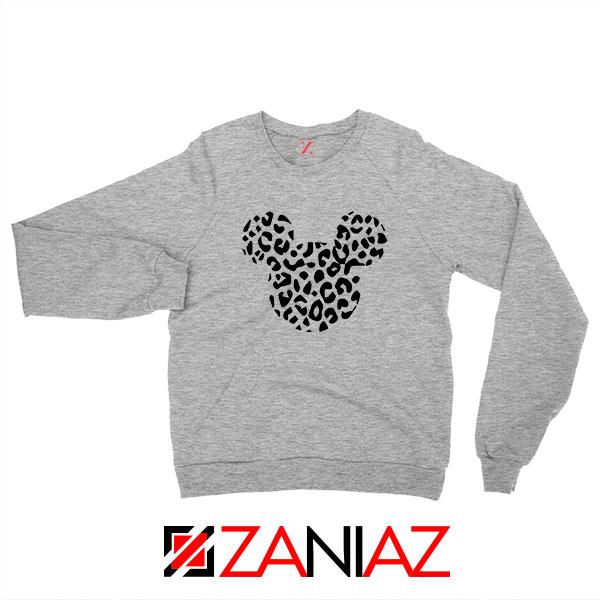 Cheetah Mickey Sport Grey Sweatshirt