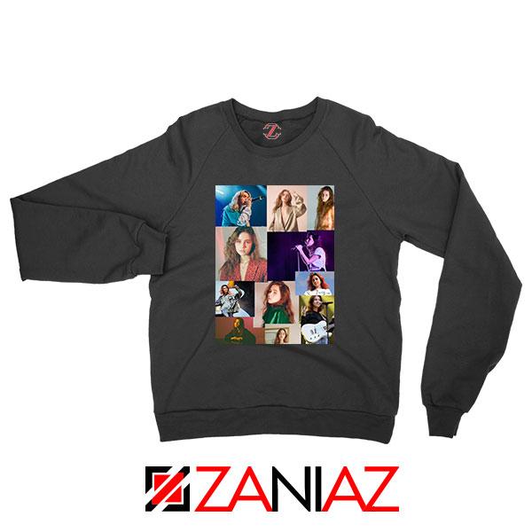 Clairo Collage Black Sweatshirt