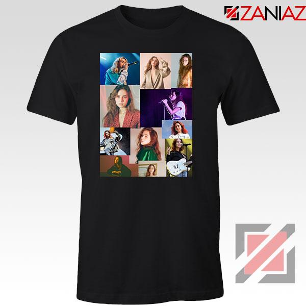 Clairo Collage Black Tshirt