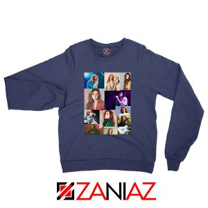 Clairo Collage Navy Blue Sweatshirt