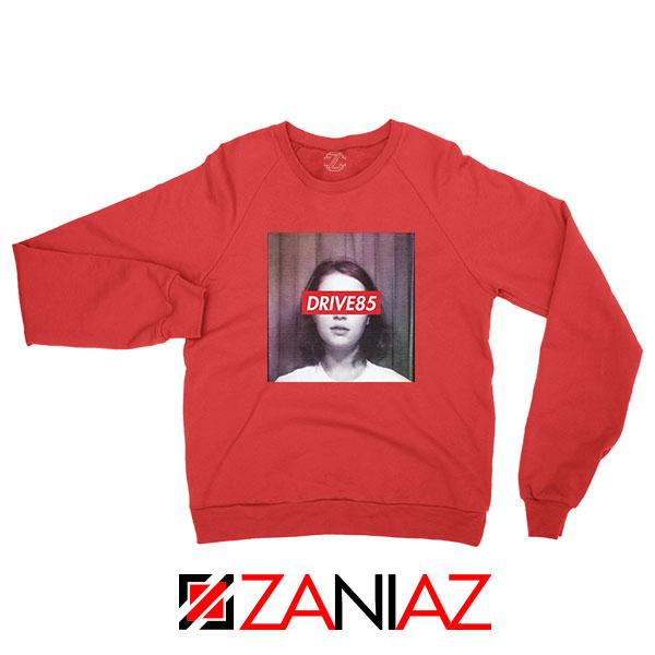 Clairo Drive85 Red Sweatshirt