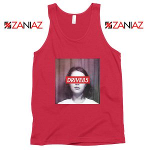 Clairo Drive85 Red Tank Top