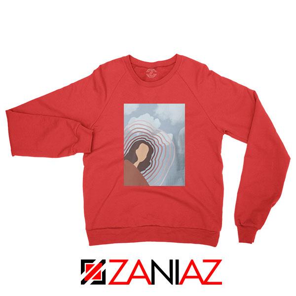 Clairo Singer Art Red Sweatshirt