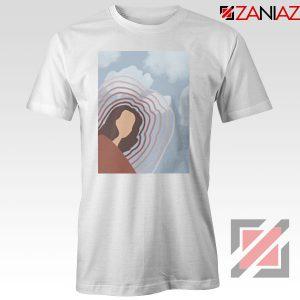 Clairo Singer Art White Tshirt