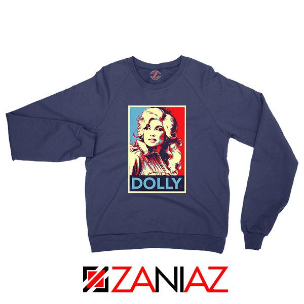 Dolly Parton Navy Blue Sweatshirt
