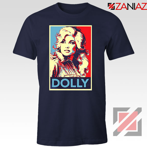 Dolly Parton Navy Blue Tshirt