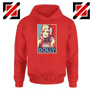 Dolly Parton Red Hoodie