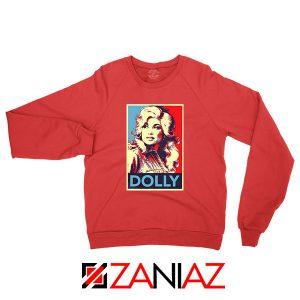 Dolly Parton Red Sweatshirt