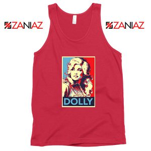 Dolly Parton Red Tank Top