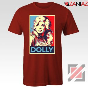Dolly Parton Red Tshirt