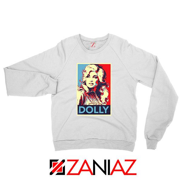 Dolly Parton White Sweatshirt