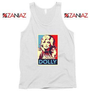Dolly Parton White Tank Top