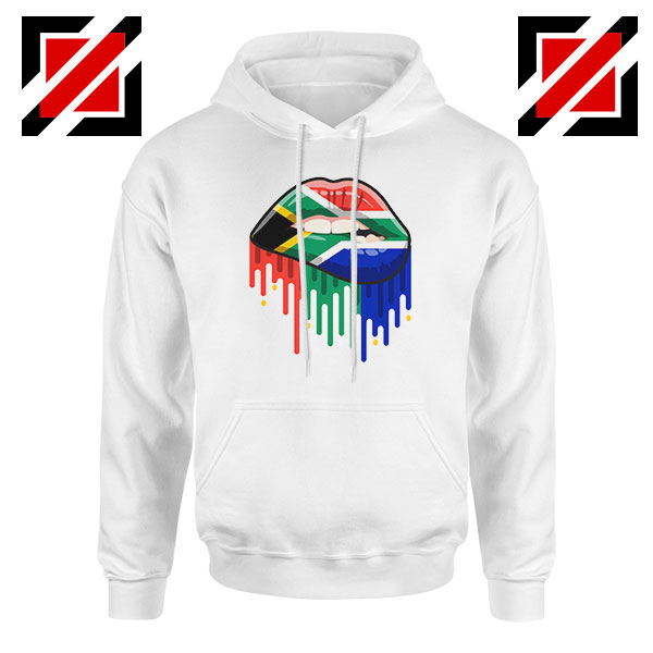 Dripping Lips Flag Hoodie