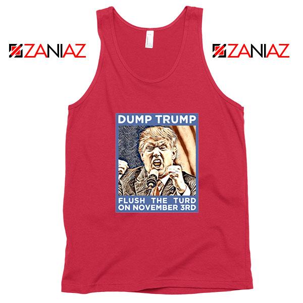 Dump Trump Red Tank Top