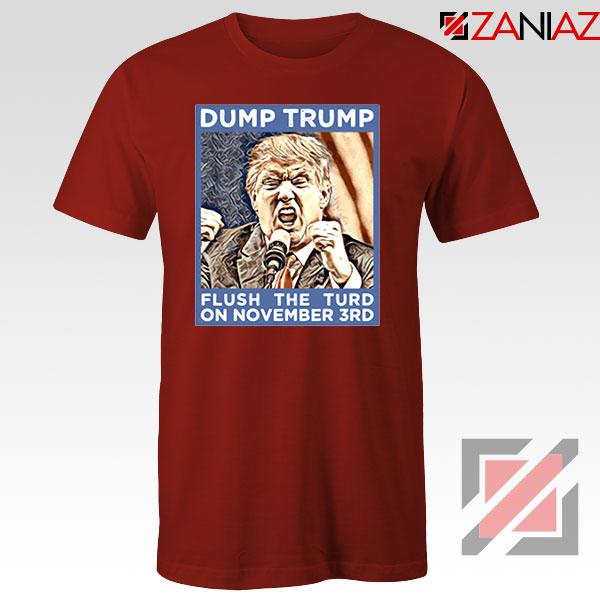 Dump Trump Red Tshirt