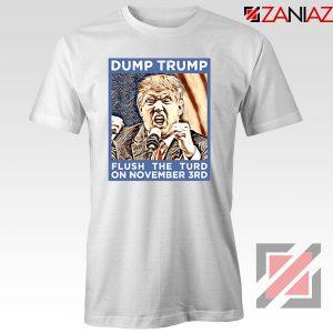 Dump Trump White Tshirt