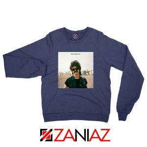 Dylan Wallows Navy Blue Sweatshirt