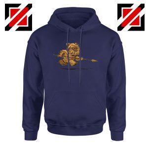 Ewok Species Navy Blue Hoodie