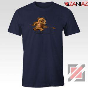 Ewok Species Navy Blue Tshirt