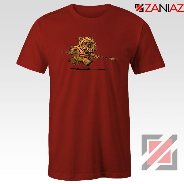 Ewok Species Red Tshirt