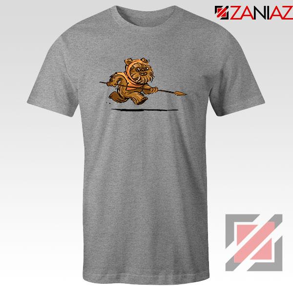 Ewok Species Sport Grey Tshirt