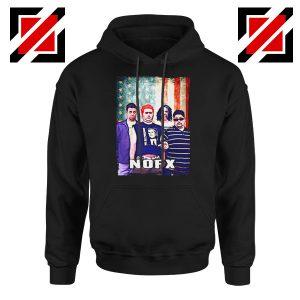 Flag America Nofx Black Hoodie